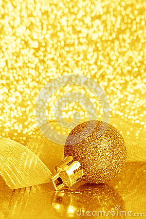 Christmas Ball Ornament - Stock Photo