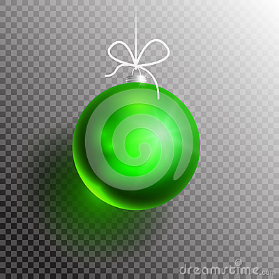 Free Christmas Ball Transparent Blik2-01 Stock Images - 81389484
