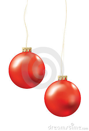 Free Christmas Balls Royalty Free Stock Image - 1449306