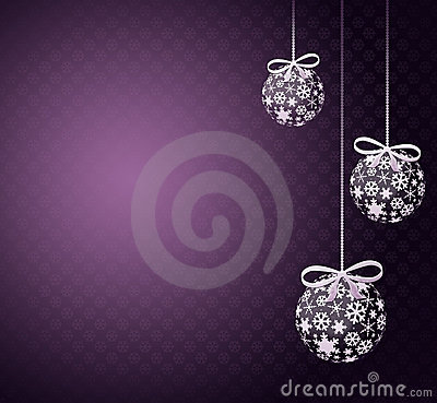 Free Christmas Balls Royalty Free Stock Photos - 17351908