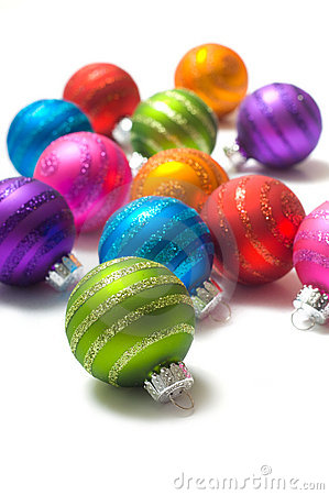 Free Christmas Balls Royalty Free Stock Photography - 3620107