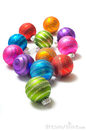 Free Christmas Balls Royalty Free Stock Photography - 3620127