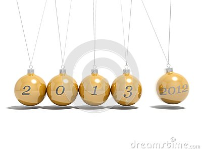Christmas balls new year s eve  2012 - 2013