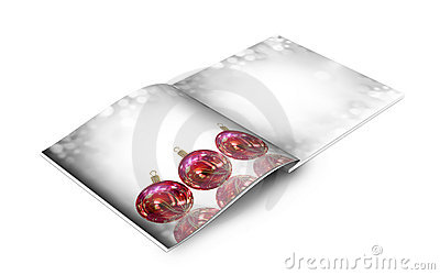 Christmas balls picture book