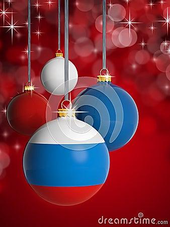 Colored Lights Christmas Tree