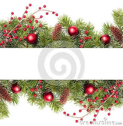 Pine Tree Christmas Decorations