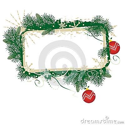 Free Christmas Banner Stock Image - 3489051