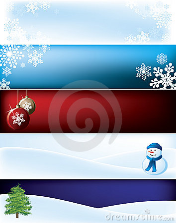 Christmas Banner Background