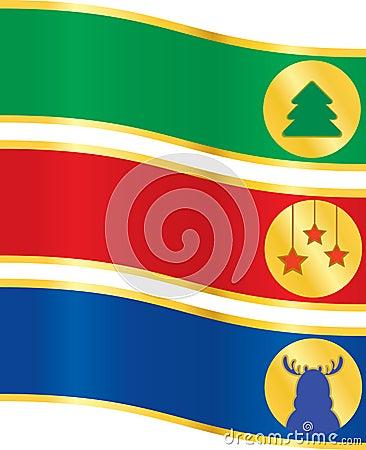 Christmas banner set 2