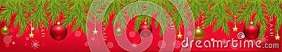Christmas Banner. Vector