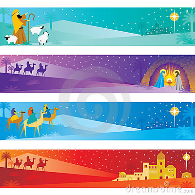 Free Christmas Banners Stock Photography - 10853532