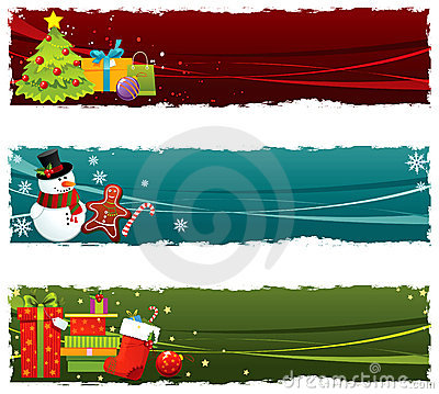 Free Christmas Banners Stock Images - 16330054