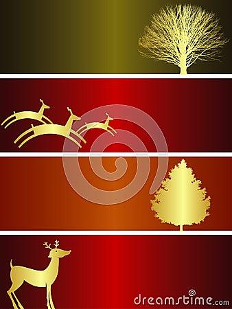 Free Christmas Banners Stock Image - 5596151