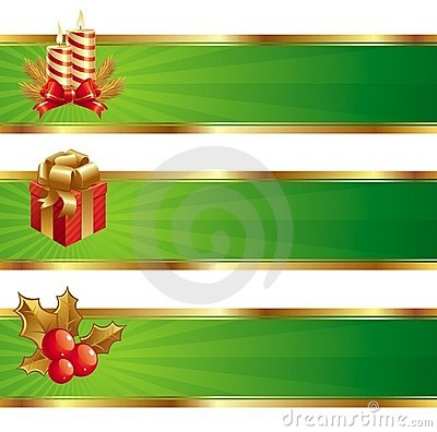 Free Christmas Banners Stock Photo - 6786550