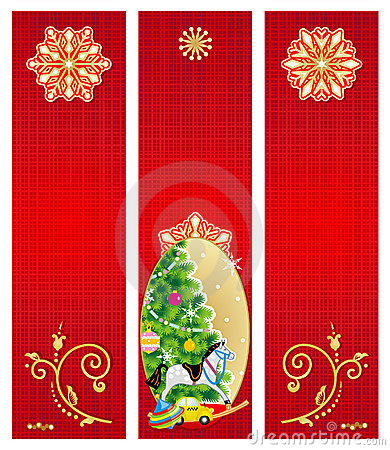 Christmas banners backgrounds