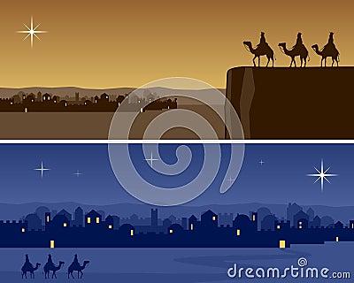 Christmas Banners - Bethlehem