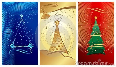 Christmas banners, cdr vector
