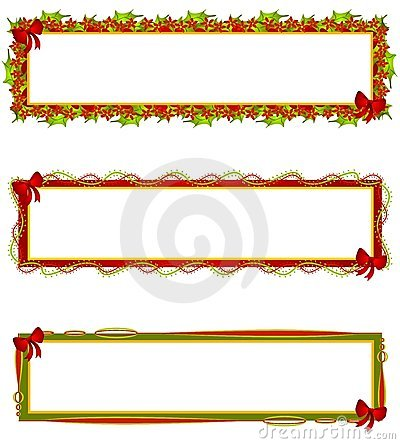 Christmas Banners Logos Labels