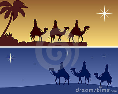 Christmas Banners - Wisemen
