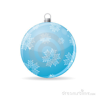 Christmas bauble,vector