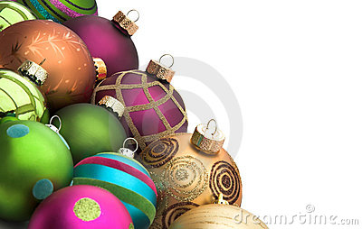Christmas Baubles Stock Image - Image: 3784641