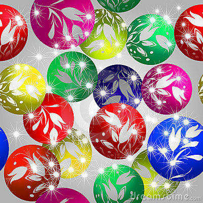 Christmas baubles design