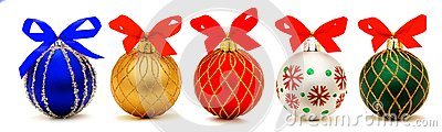 Christmas baubles