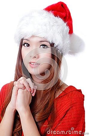 Christmas Beauty Girl wish