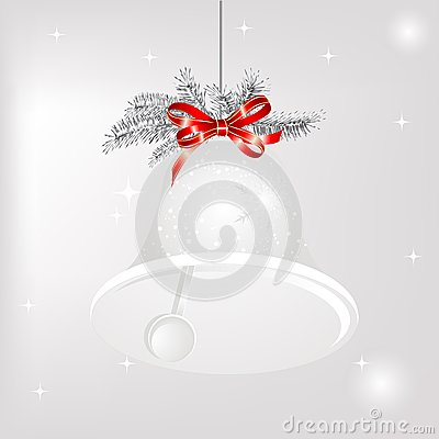 Free Christmas Bell Royalty Free Stock Image - 26768606
