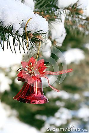 Free Christmas Bell Stock Image - 3820321