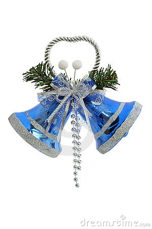 Christmas Bells clipping path