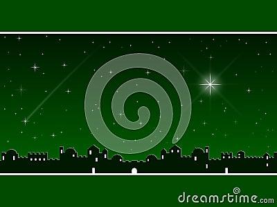 Christmas in Bethlehem [Green]
