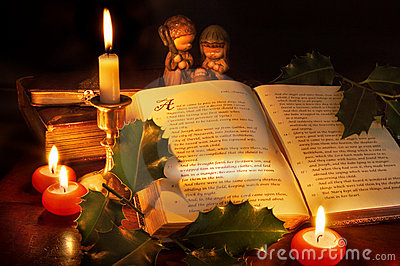 Royalty Free Stock Photography: Christmas in the bible. Image: 6607257