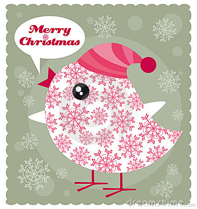 Free Christmas Bird Royalty Free Stock Photography - 11873067
