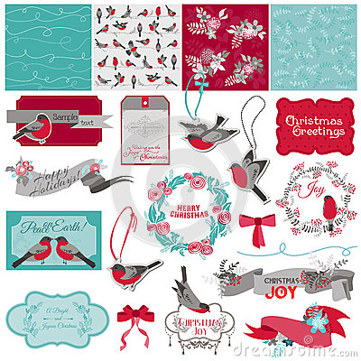 Christmas Birds Theme