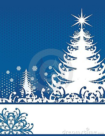 Christmas Blue Stock Image - Image: 6541171