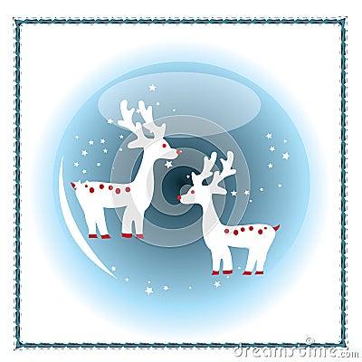 Christmas Blue Crystal Ball