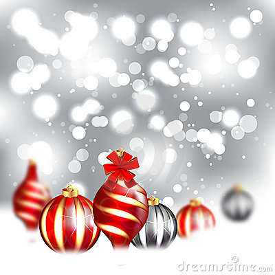 Christmas Blurred Design