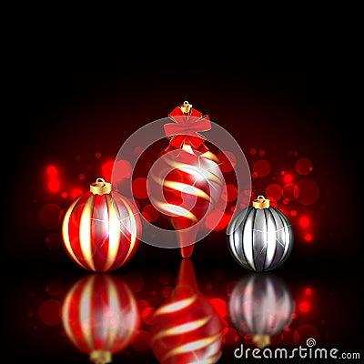Christmas Blurred Design