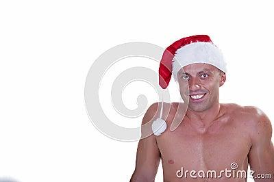 Christmas bodybuilder