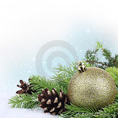 Free Christmas Border Stock Photography - 21111962