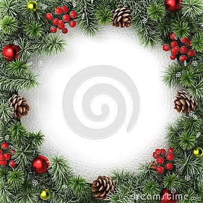 Free Christmas Border. Stock Photo - 21263460