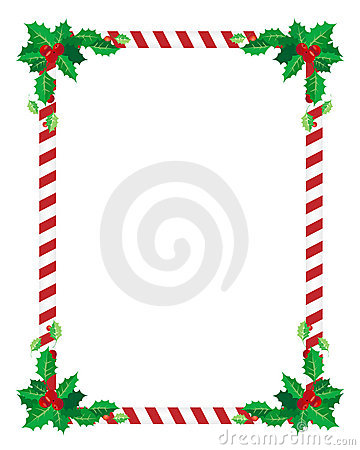 Christmas border Vector Illustration