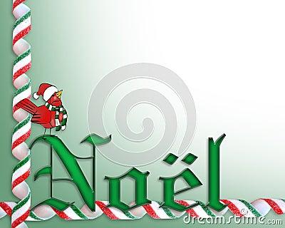 Christmas border background Noel