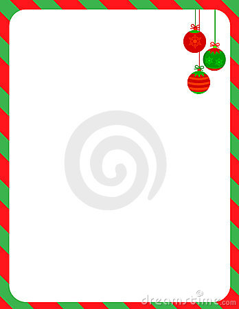 Free Christmas Border / Candy Cane Stock Photography - 21111722