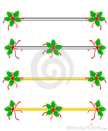 Christmas Border/ Divider Royalty Free Stock Image - Image: 21103186
