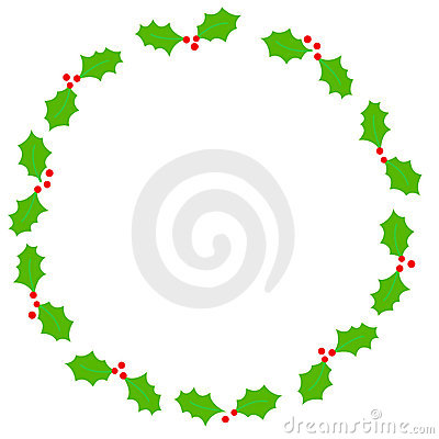 Free Christmas Border / Holly Royalty Free Stock Photo - 6342015