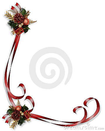 Christmas Border Illustration