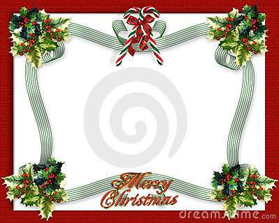 Christmas Border Ribbons Royalty Free Photos Image 15881298 – Downloadable Christmas Party Invitations Templates Free
