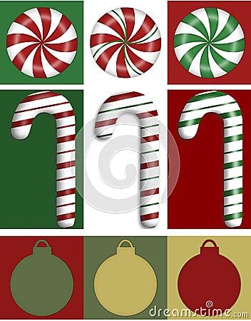 Christmas Border Trio